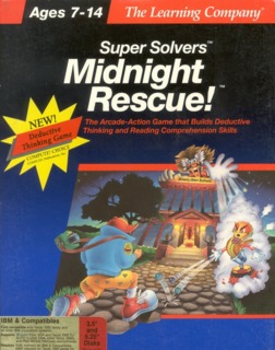 Game cover for Super Solvers: Midnight Rescue!