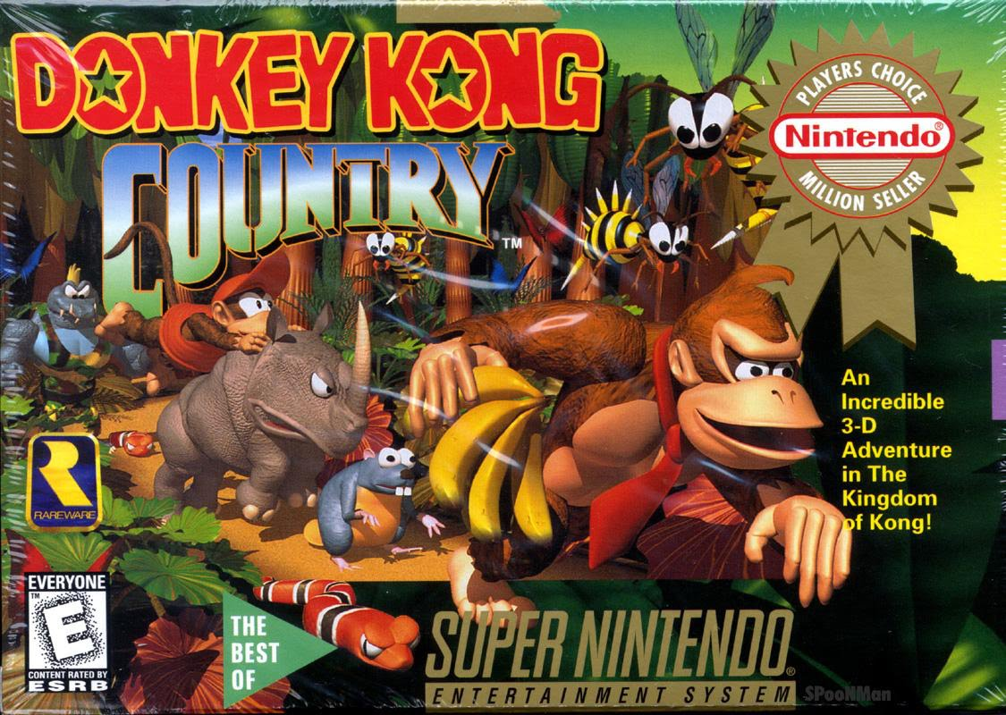 Game cover for Donkey Kong Country