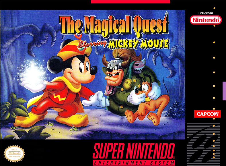 Game cover for The Magical Quest Starring Mickey Mouse