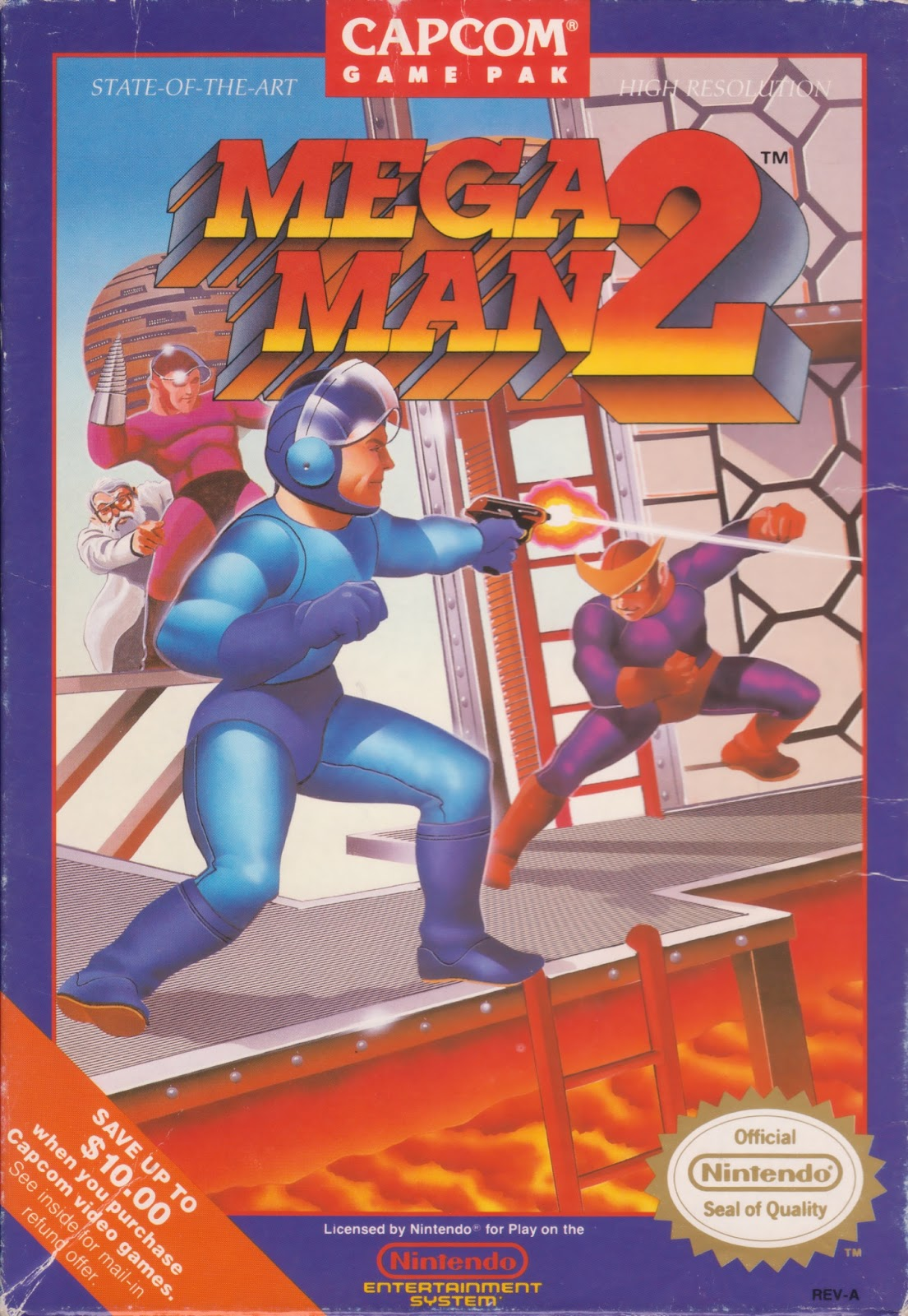 Game cover for Mega Man 2