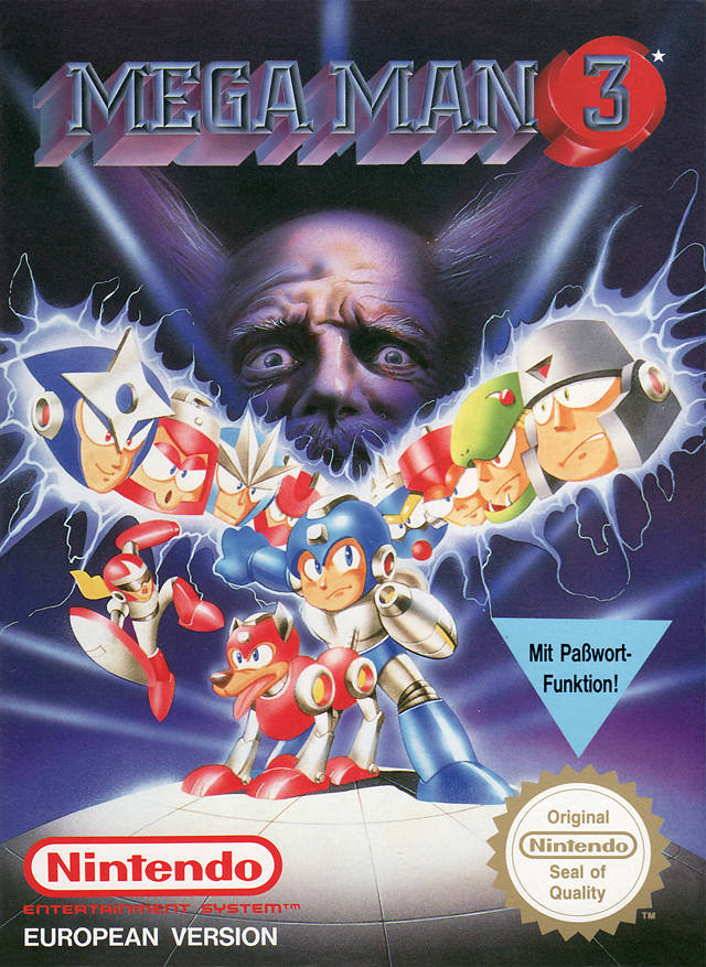 Game cover for Mega Man 3