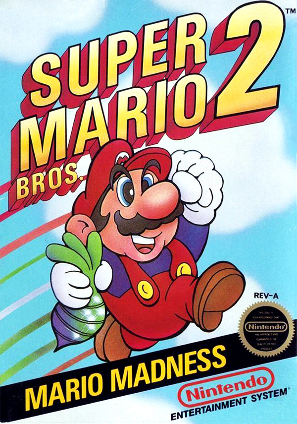 Game cover for Super Mario Bros. 2