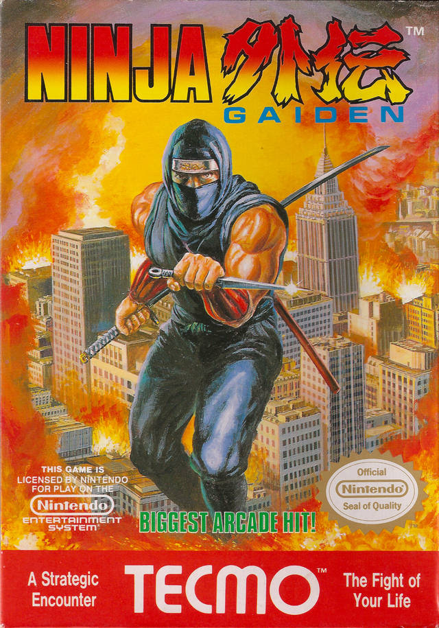 Game cover for Ninja Gaiden