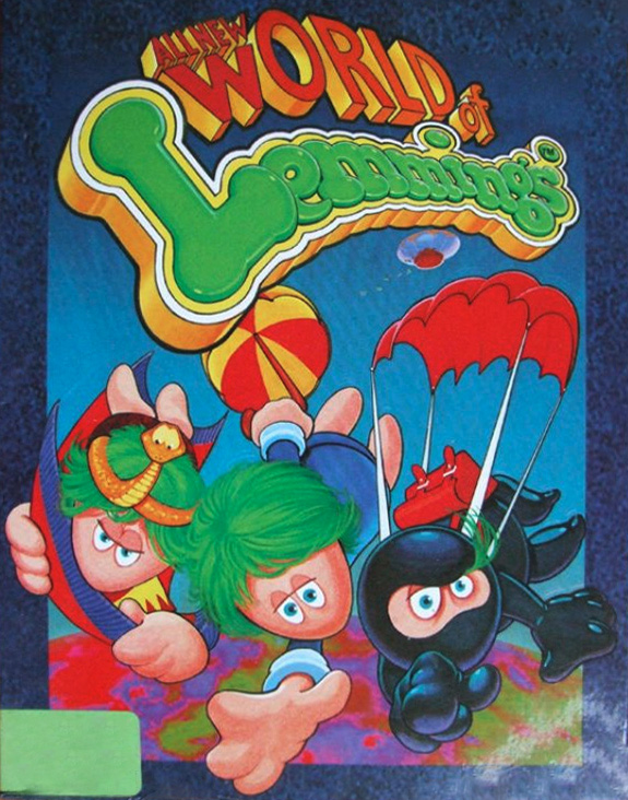 Game cover for All New World of Lemmings