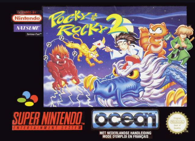 Game cover for Pocky & Rocky 2