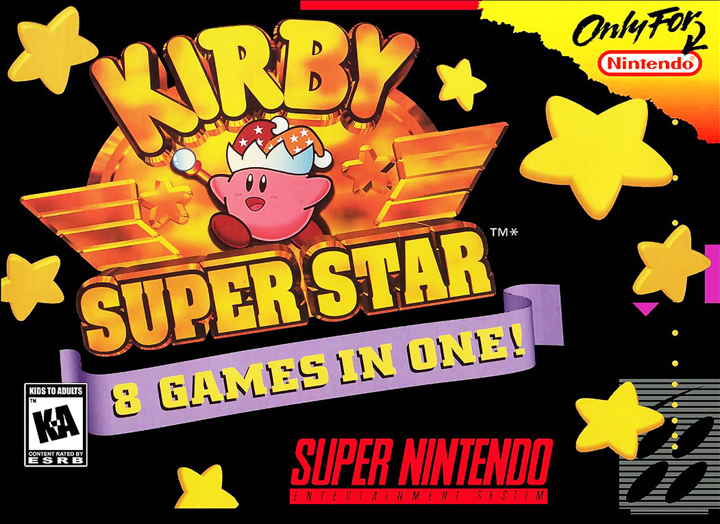 Game cover for Kirby Super Star