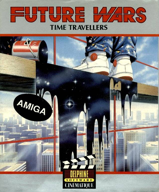 Game cover for Future Wars: Adventures in Time