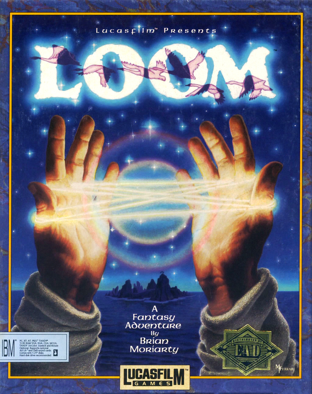 Game cover for Loom