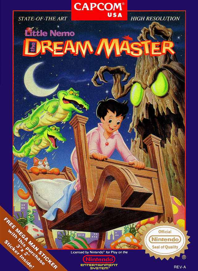 Game cover for Little Nemo: The Dream Master