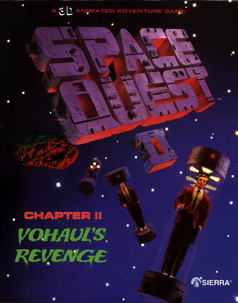Game cover for Space Quest II: Vohaul's Revenge
