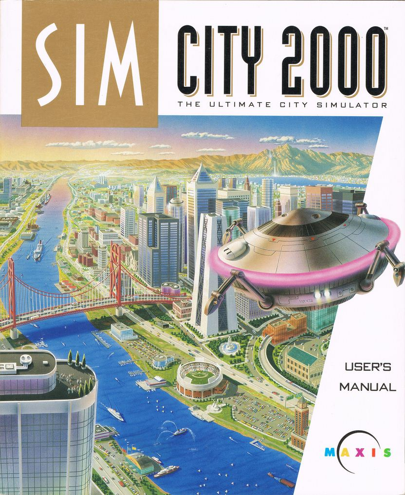 Game cover for Sim City 2000
