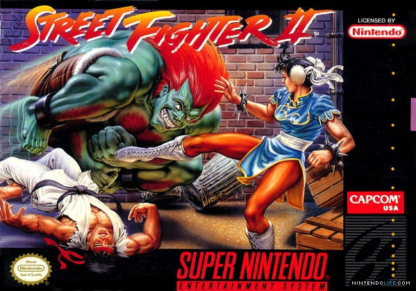 Game cover for Street Fighter II: The World Warrior