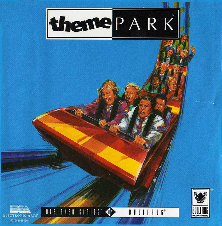 Game cover for Theme Park