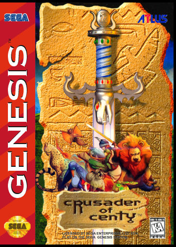 Game cover for Crusader of Centy aka Soleil