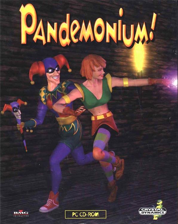 Game cover for Pandemonium!