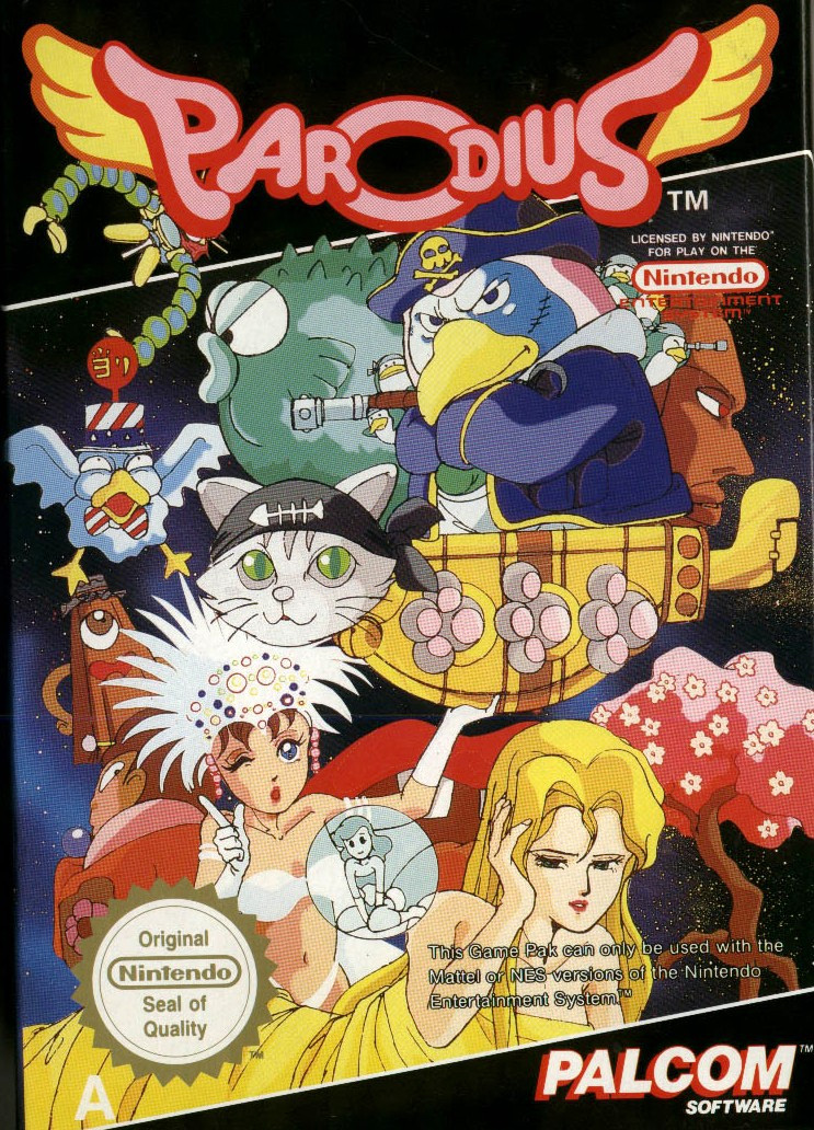 Game cover for Parodius: Non-Sense Fantasy