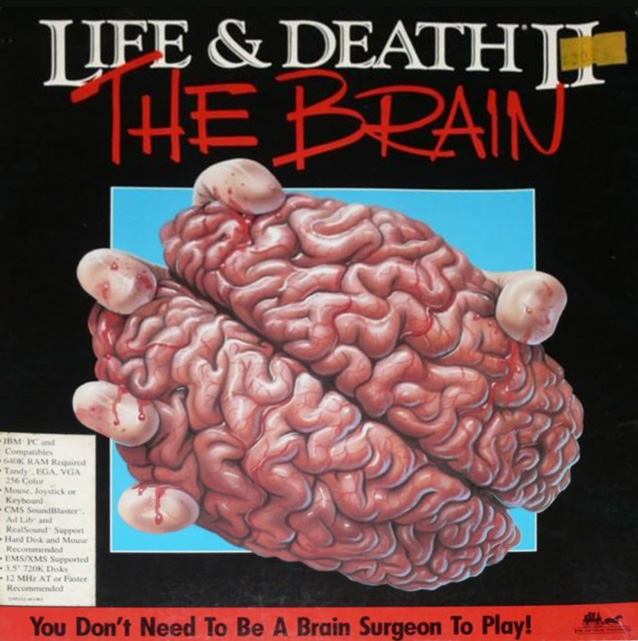 Game cover for Life and Death II: The Brain