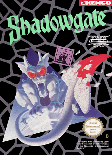 Game cover for Shadowgate