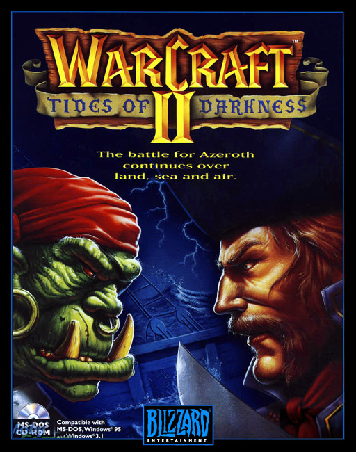 Game cover for Warcraft II: Tides of Darkness