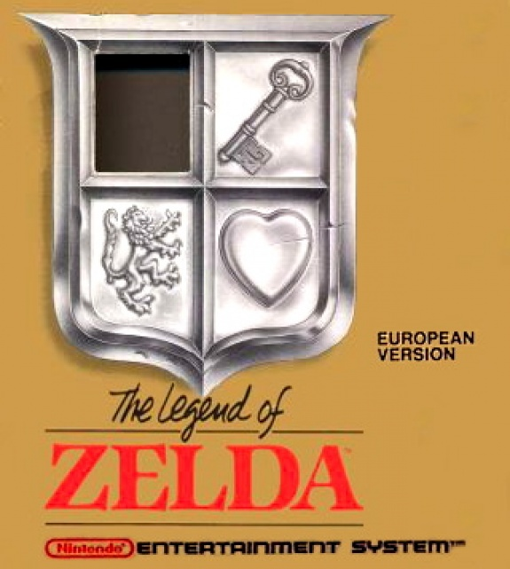 Game cover for The Legend of Zelda