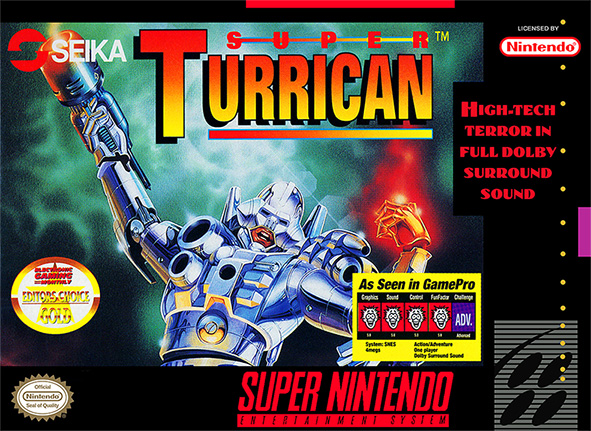 Game cover for Super Turrican