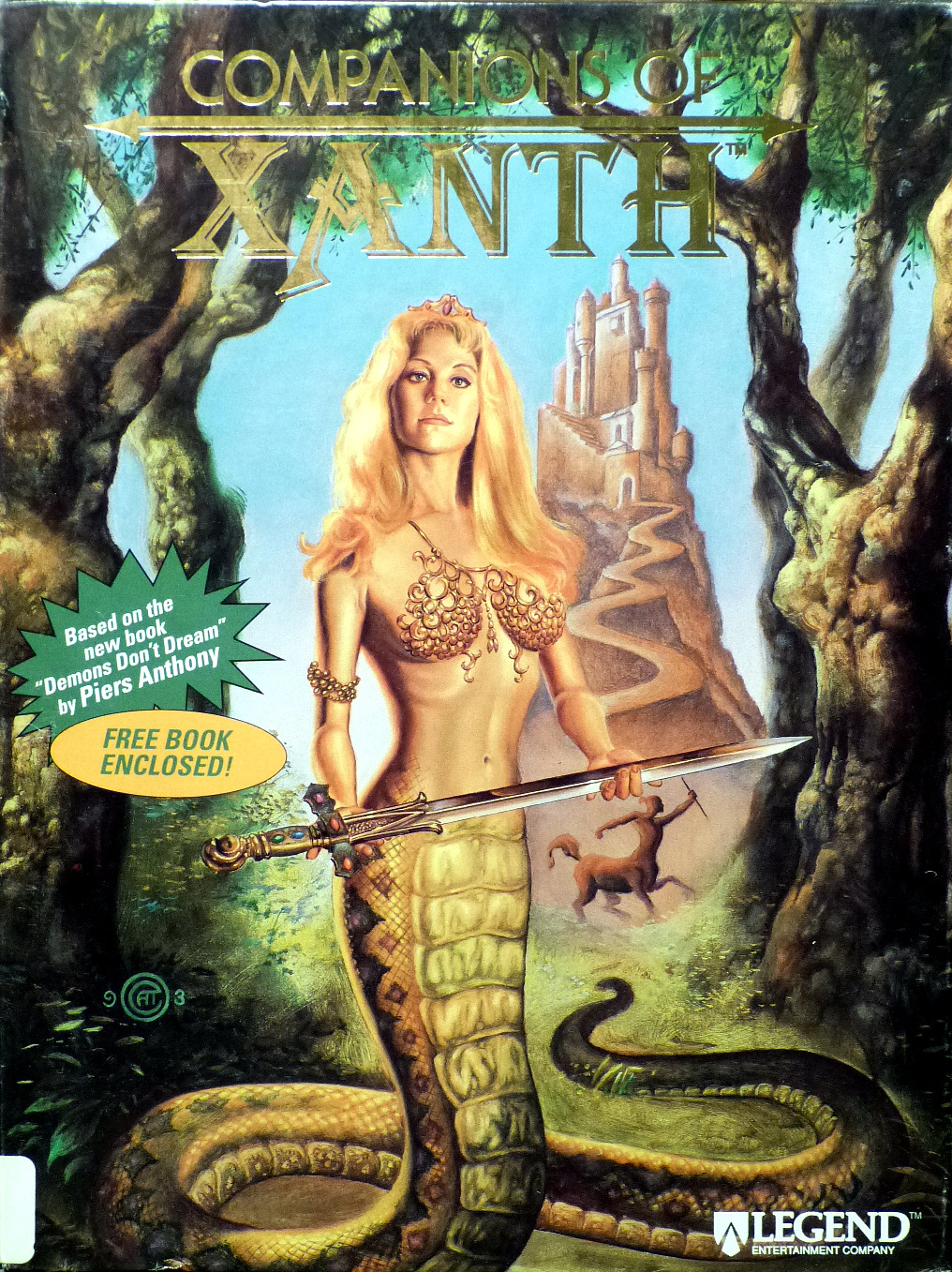 Game cover for Companions of Xanth