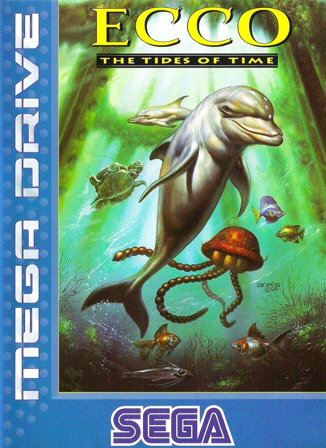 Game cover for Ecco: The Tides of Time