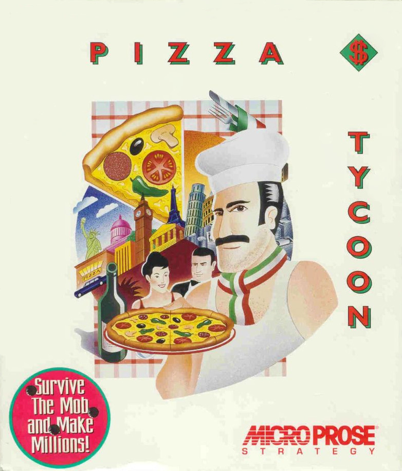 Game cover for Pizza Tycoon