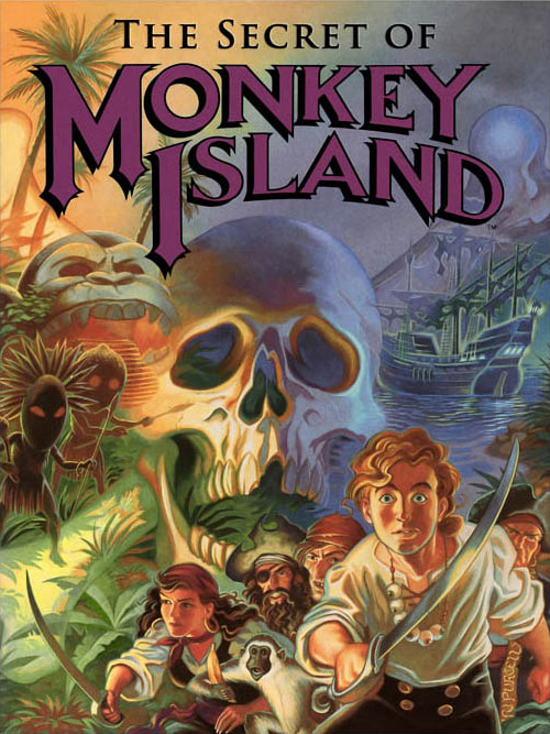 Game cover for The Secret of Monkey Island