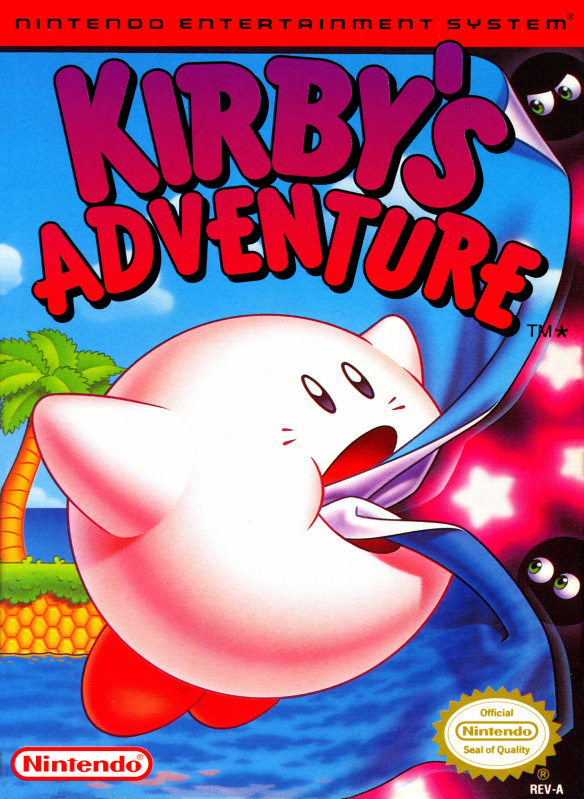 Game cover for Kirby's Adventure