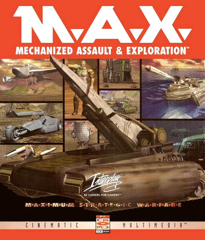 Game cover for M.A.X - Mechanized Assault & Exploration