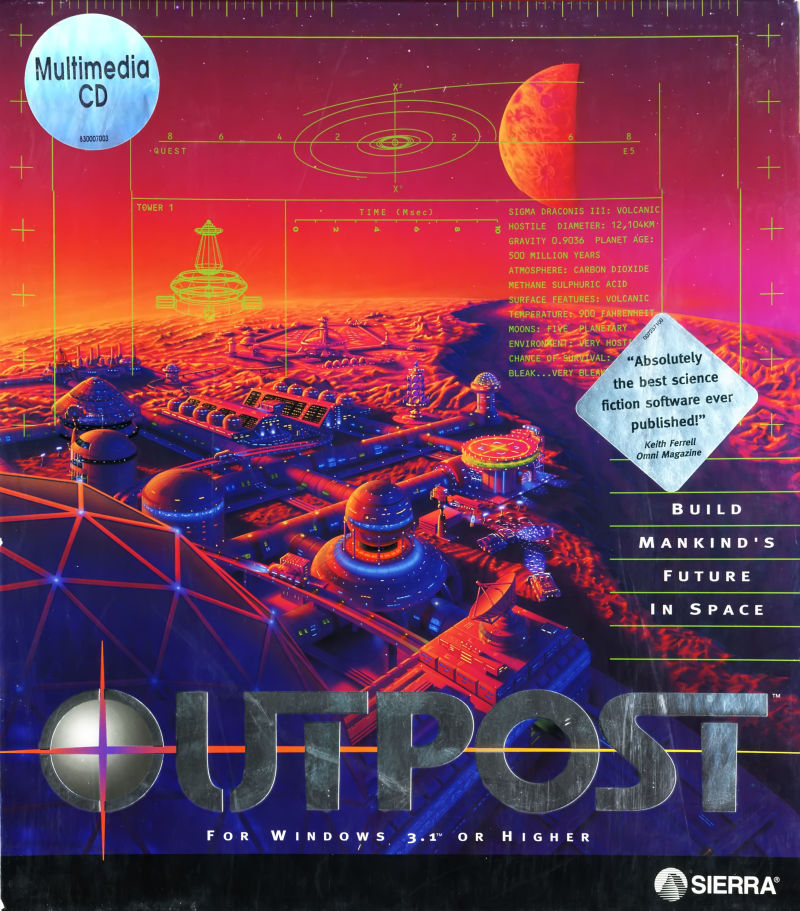 Game cover for Outpost