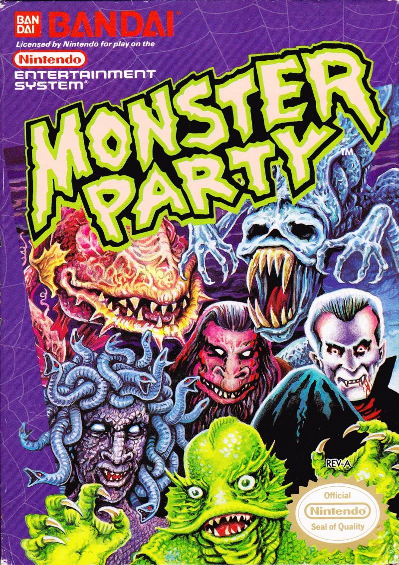 Game cover for Monster Party