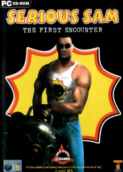 Game cover for Serious Sam: The First Encounter