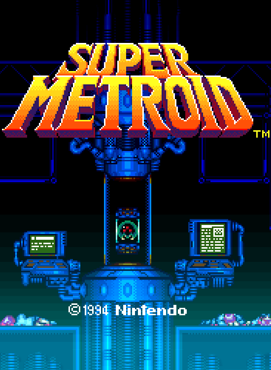Game cover for Super Metroid