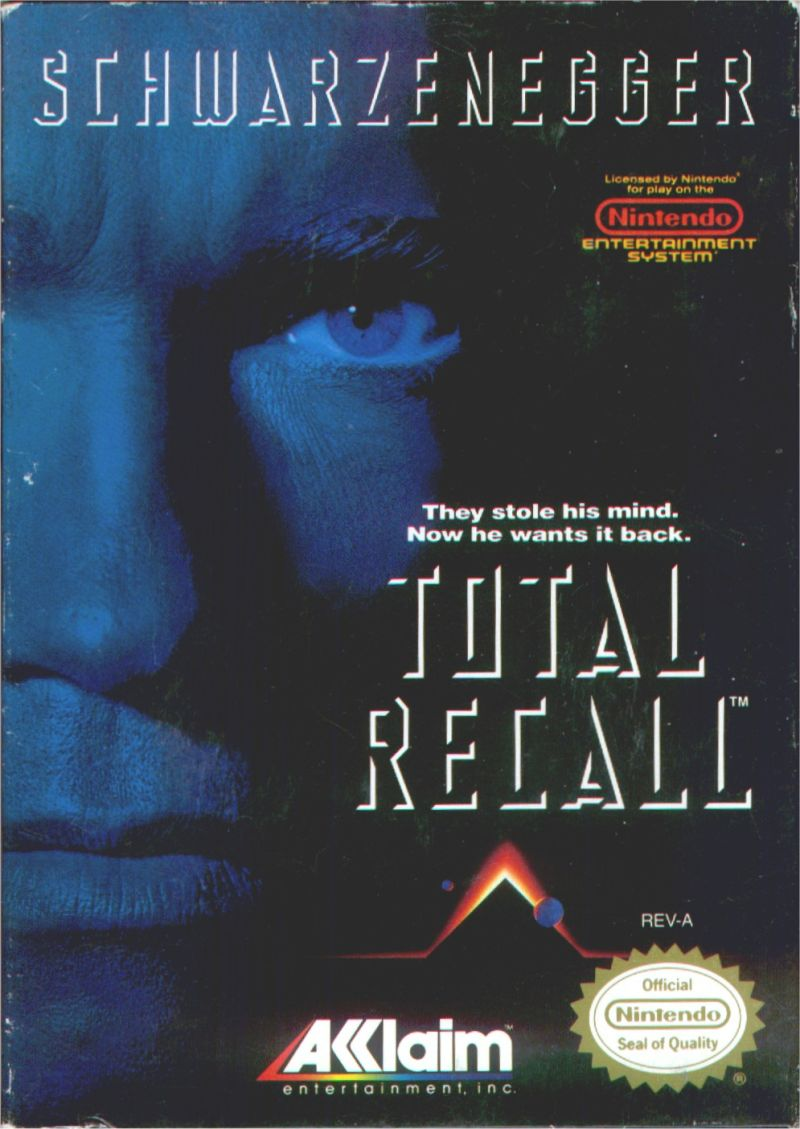 Game cover for Total Recall