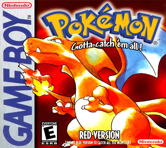 Game cover for Pokémon Red Version