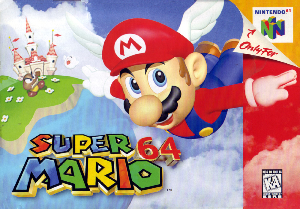 Game cover for Super Mario 64