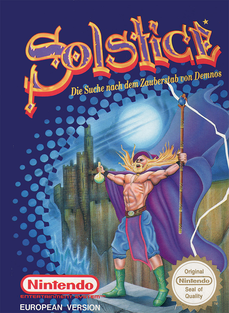 Game cover for Solstice: The Quest for the Staff of Demnos
