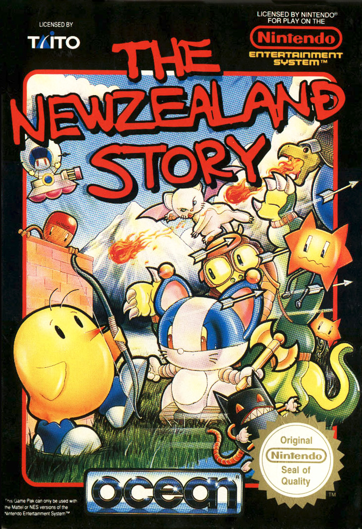 Game cover for New Zealand Story