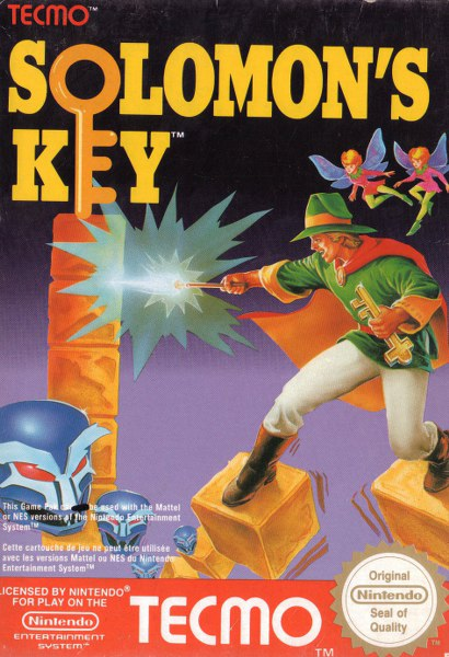 Game cover for Solomon's Key