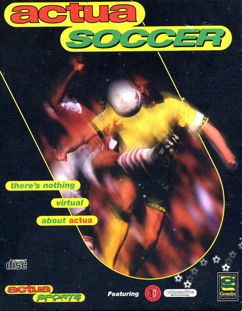 Game cover for Actua Soccer