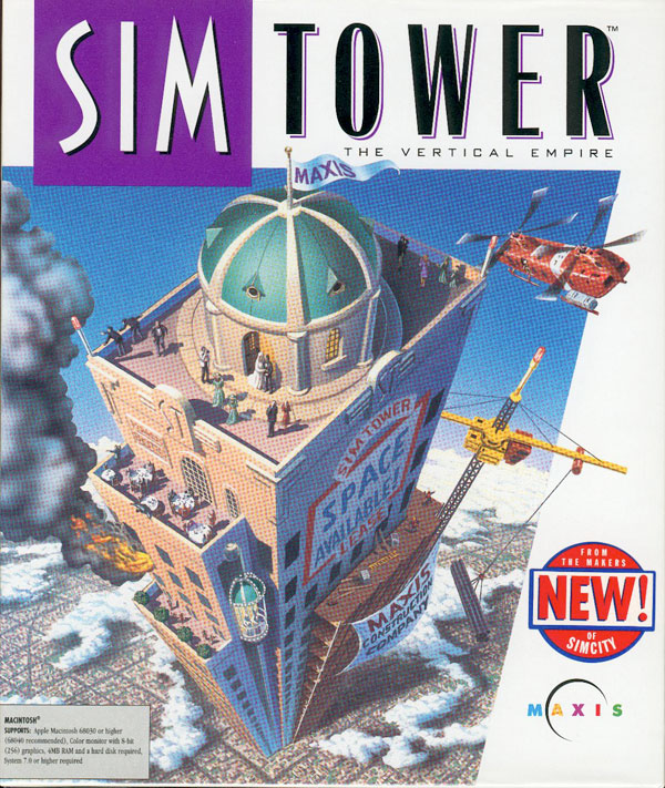 Game cover for SimTower: The Vertical Empire