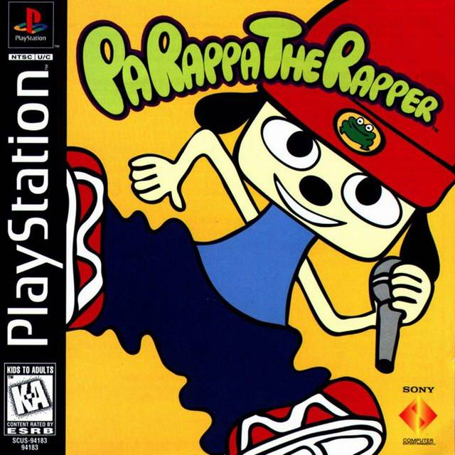 Game cover for PaRappa the Rapper