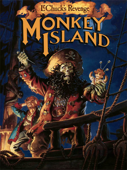 Game cover for Monkey Island 2: LeChuck's Revenge