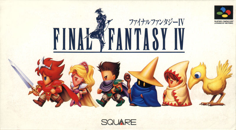 Game cover for Final Fantasy IV