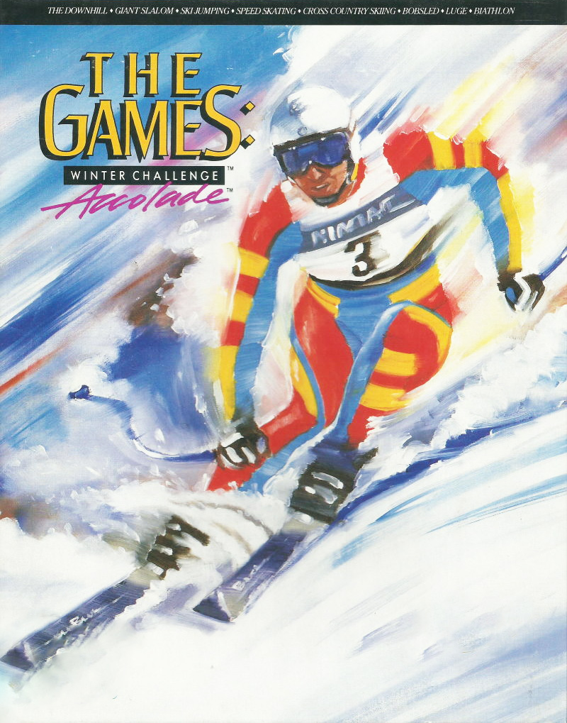 Game cover for The Games: Winter Challenge