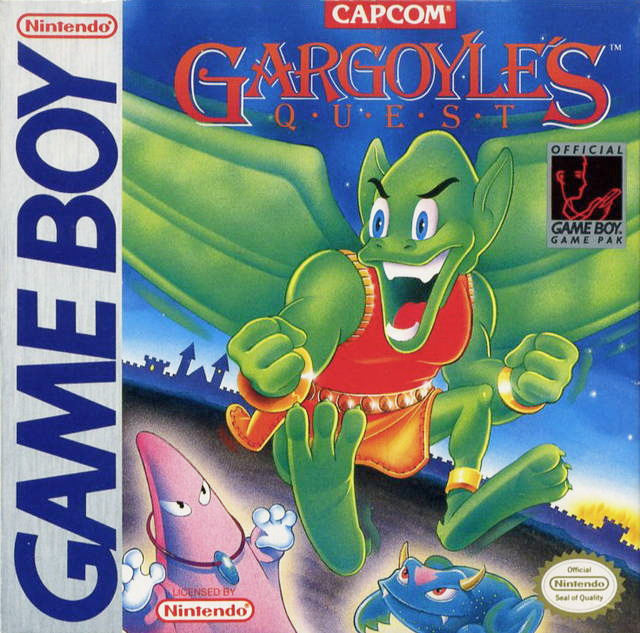Game cover for Gargoyle's Quest