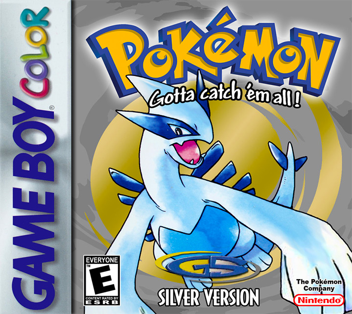 Game cover for Pokémon Silver Version