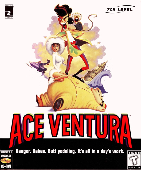 Game cover for Ace Ventura